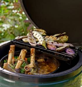 Big Green Egg - Big Green Egg Combo - Large BGE with Nest and convEGGtor - Image 10