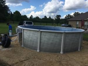 "H&H Swimming Pools - H&H Swimming Pools 24' Wide x 52"" Tall Round Above Ground Pool - Image 3"